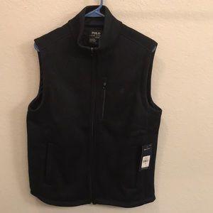NWT Men's Polo Ralph Lauren dark blue vest